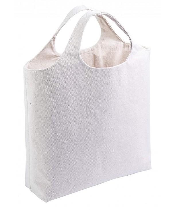 Handle Tote Bag Minimalist Groceries
