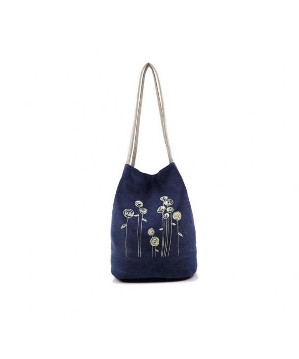 Coper Canvas Casual Handbags Shoulder