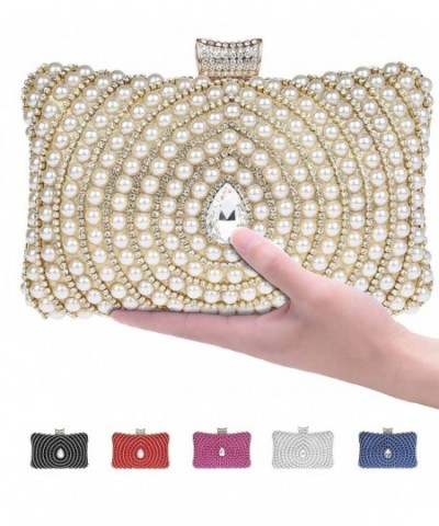 Metallic Sparkling Rhinestone Minaudiere Interlayer