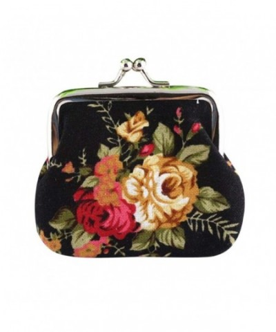 Baomabao Women Wallet Flower Clutch