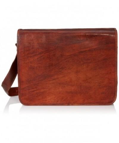 Satchelandfable Leather Shoulder Compatible Messenger