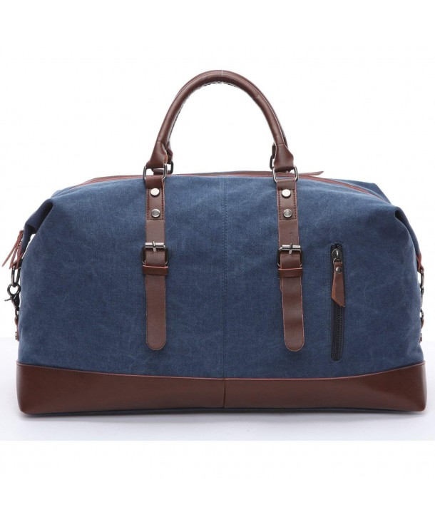 Travel duffel Canvas Leather Weekend