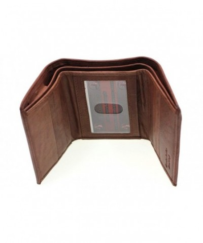 Paul Taylor Leather Trifold Compartment