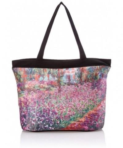 Galleria Monet Garden Tote Bag
