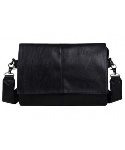Leather Messenger Crossbody Handbag Shoulder