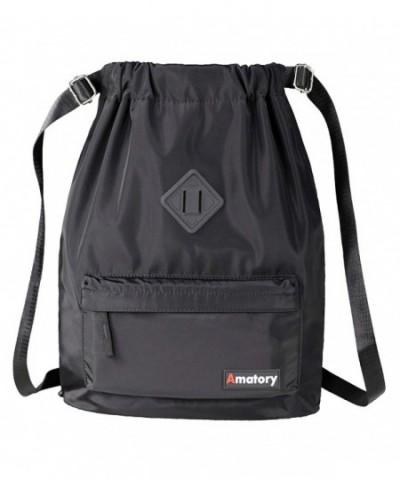 Drawstring Backpack Waterproof Sackpack Gymsack