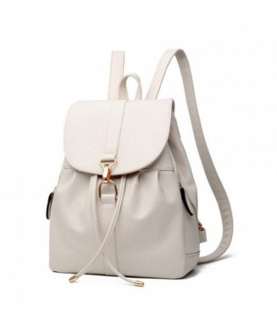 SYXLCYGJ Leather Backpack Fashion Shoulder