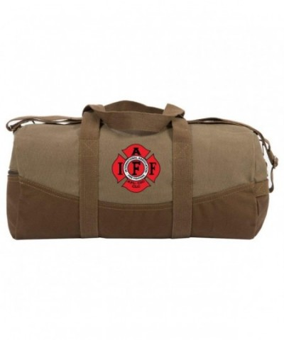 Fighters Duffle Brown Bottom Detachable