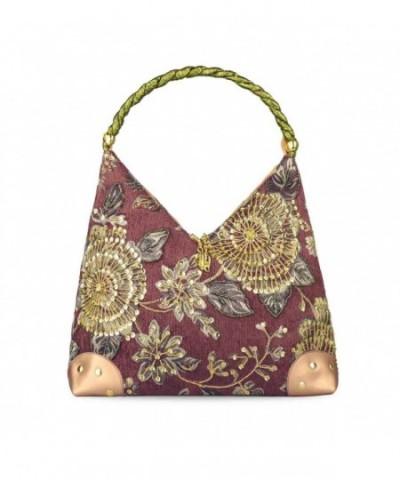 Spring Embroidery Embroidered Handbag Shoulder