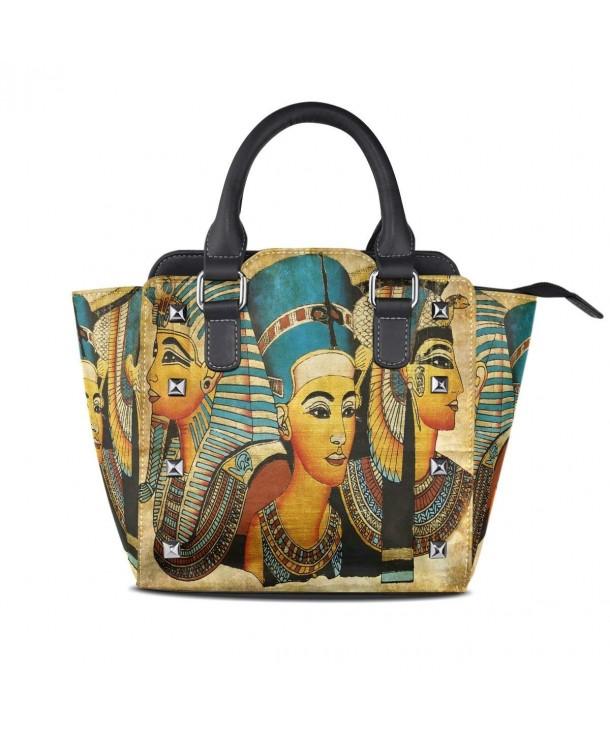 Ancient Egyptian Parchment Leather Shoulder
