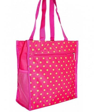 Garden Polka Dot Tote Bag