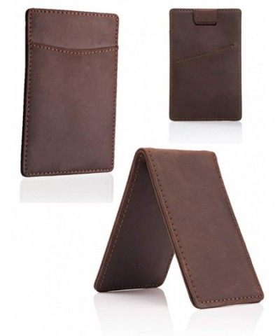 Leather Minimalist Wallet Holder Money