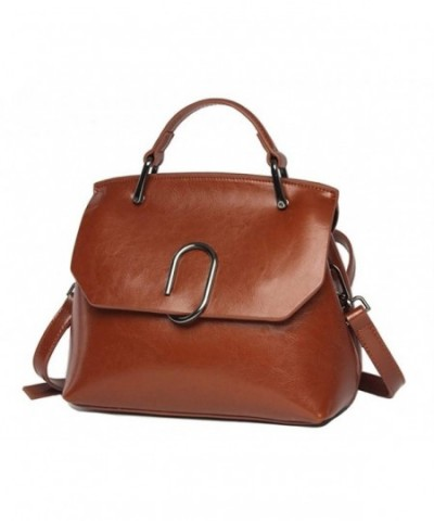 handbag Vintage Genuine Leather Shoulder