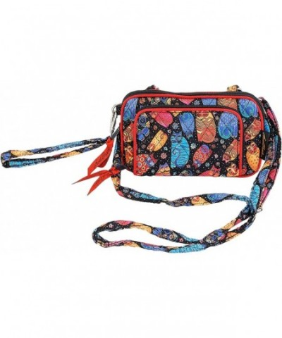 Laurel Burch Organizer Wristlet Crossbody