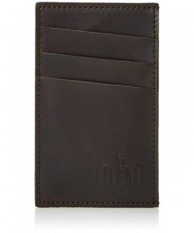 Filgate Genuiner Leather Vertical Mahogeny