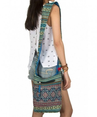 Woven Satchel Shoulder Travel Tribal
