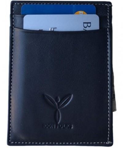 Genuine Leather RFID Slim Wallet