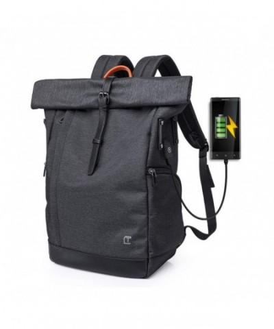 Cornasee Waterproof Backpack Roll top Anti theft