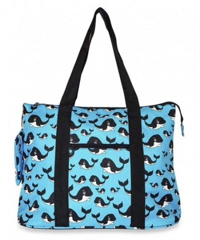 Ever Moda Whale Tote X Large