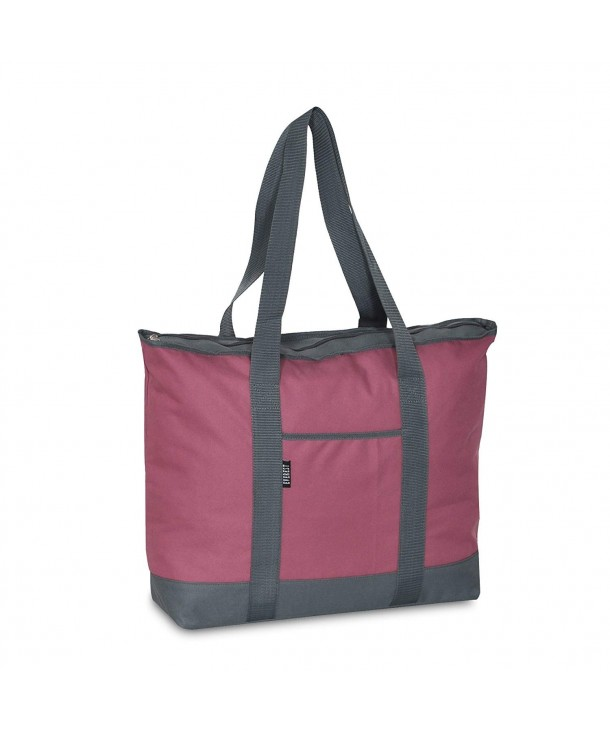 Everest Shopping Tote Marsala Gray