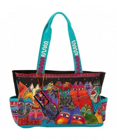 Laurel Burch Fantasticats Medium Tote