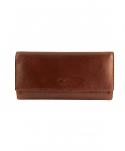 Mancini Leather Goods Ladies Trifold