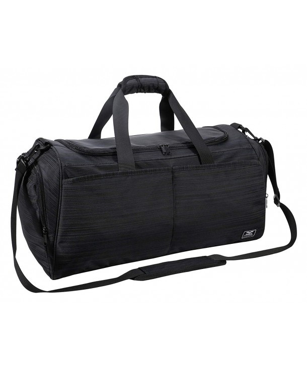 Wolf Sports Gym Bag with Shoes Compartment Travel Duffel Bag for Men and Women