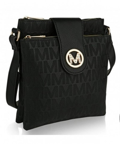 Crossbody compartments Messenger MKF Collection