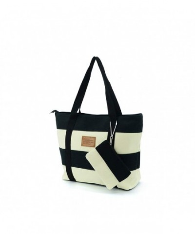 Lustear Large Nylon Tote Shoulder