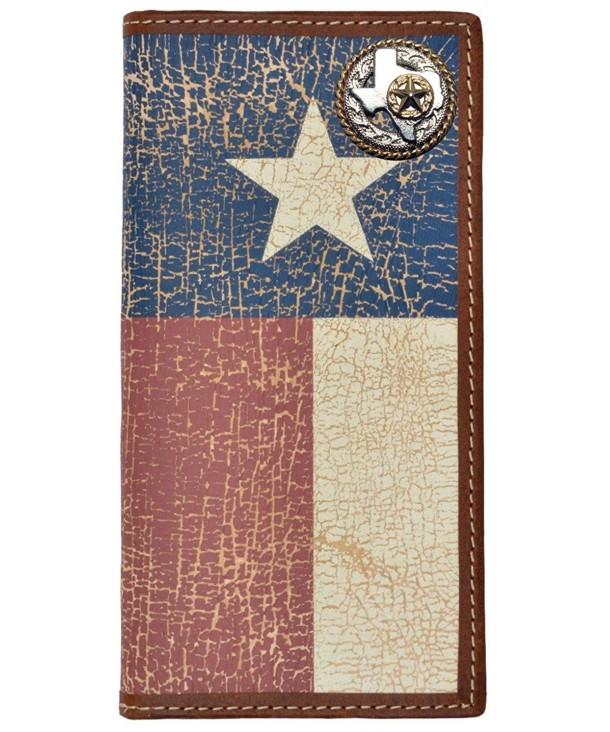 Custom Texas Rope Wallet Distressed