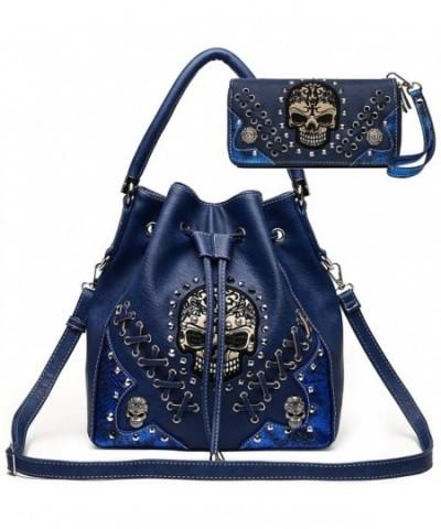 Studded Concealed Handbag Fashion Shoulder