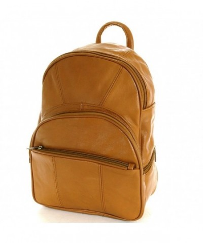 Leather Backpack Convertible Multiple Organizer