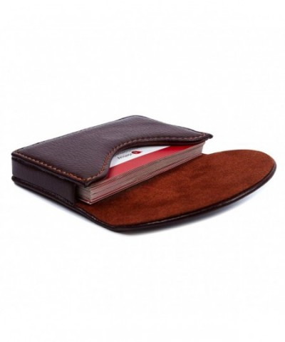 Leather Business Holder Wallet Magnetic