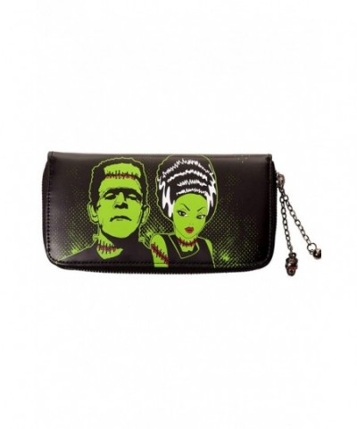 Banned Frankenstein Bride Wallet Black