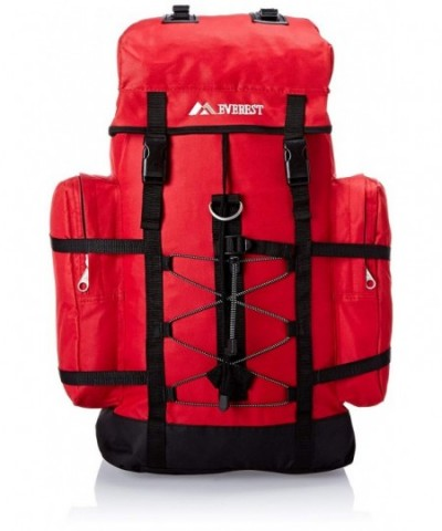 Everest Hiking Pack Red Size