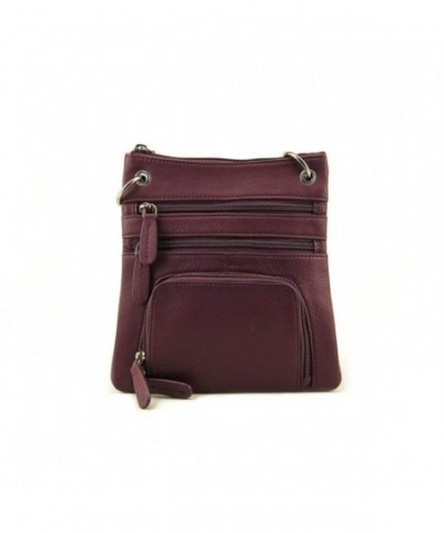 Leather Westside Sling Cross body Handbag