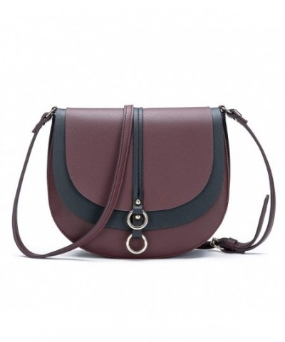 Crossbody Saddle Shoulder Satchel Leather