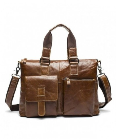 Stepack Genuine Messenger Briefcase Shoulder