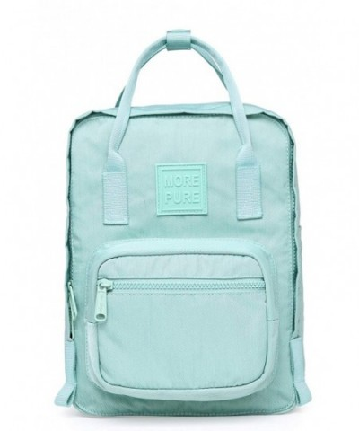 MOREPURE Small Backpack 10 inch Turquoise