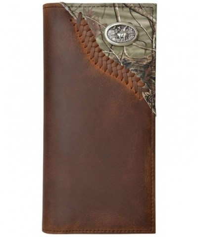 Custom Leather Wallet Realtree Concho