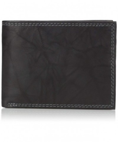 Buxton Mens Credit Billfold Wallet
