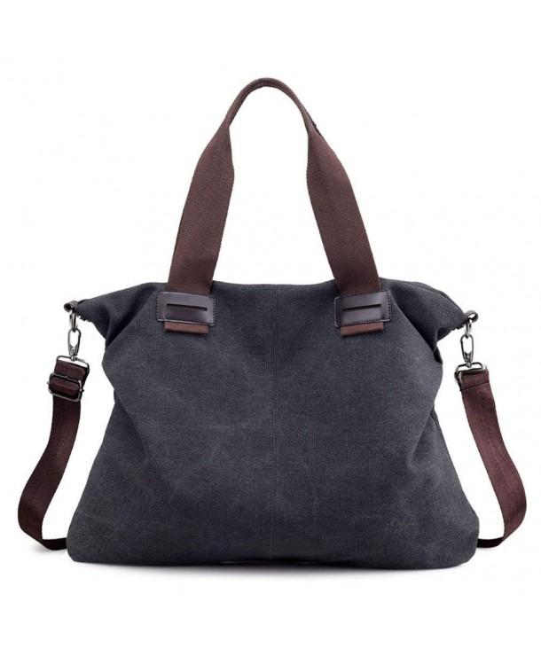 Womens Vintage Shoulder Shopper Handbag