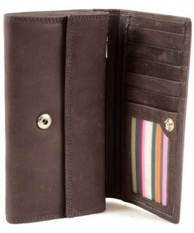 Ladies Matinee Finish Leather Wallet