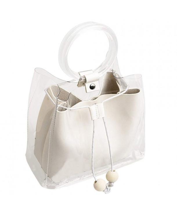 DALFR Waterproof Transparent Purses Handbags