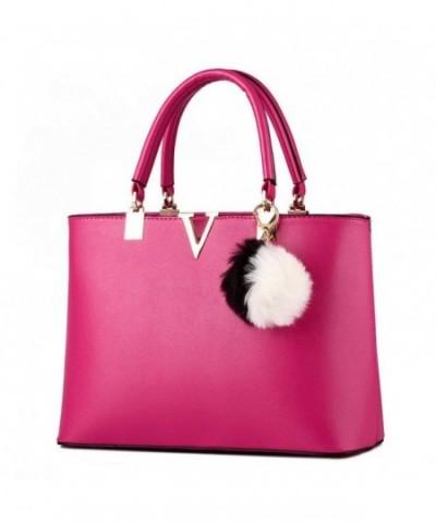 Office Leather Shoulder Top Handle Handbag