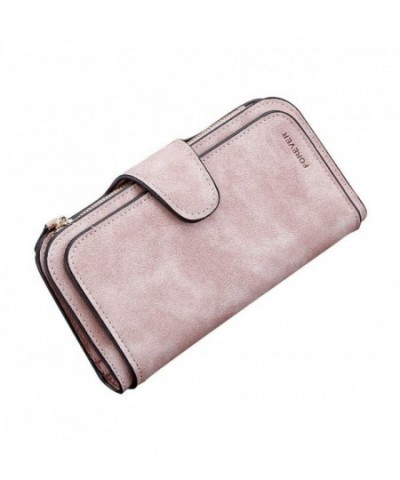 LIZHIGU Leather Wallet Vintage Clutch