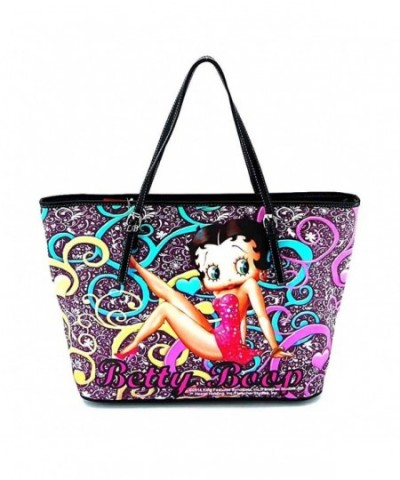 Betty Boop Large Floral Pattern