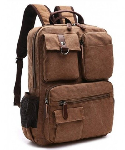 Genbagbar Vintage Backpack College Bookbag