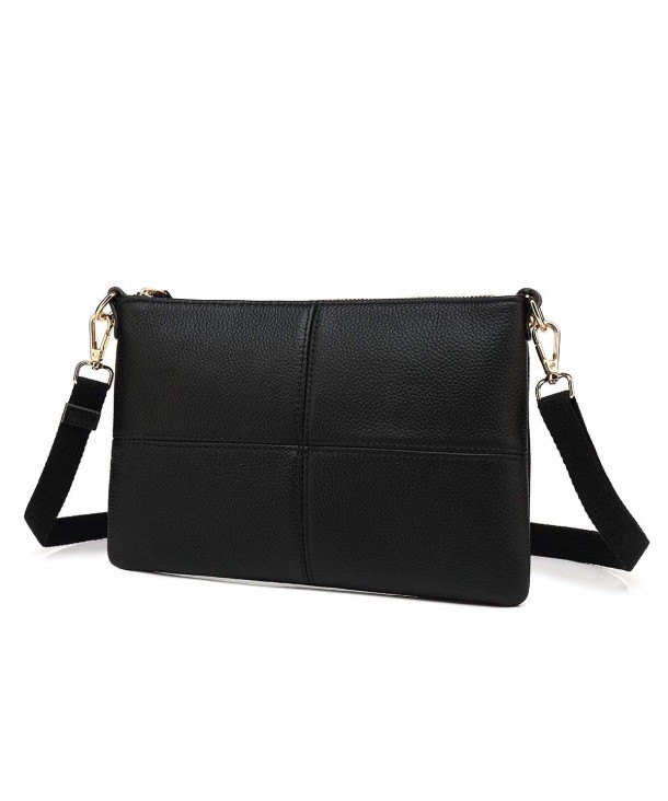 Leather Crossbody Clutch Shoulder Travelling