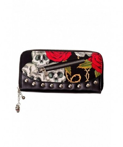 Banned Skulls And Roses Wallet
